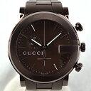 【中古】グッチ GUCCI クォーツ クロノグラフ YA101341 腕時計 [メンズ 男性用] ギ ...