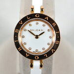 ブルガリ/BVLGARI:B−ZERO1クォーツ750PG×セラミックダイヤインデックスBZP23SGC時計腕時計レディース[女性用]【中古】