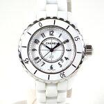 シャネル/CHANEL:J12ホワイトセラミックQZH0968時計腕時計レディース[女性用]【中古】