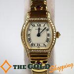 カルティエ/Cartier:トーチュ750YGダイヤベゼル時計腕時計レディース[女性用]中古【中古】