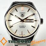 タグホイヤー/TAGHeuer:カレラキャリバー5自動巻きWAR201D時計腕時計メンズ[男性用]中古【中古】