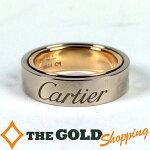 カルティエ/Cartier:ラブシークレットリング750WG&PG10.9g#52ジュエリー・アクセサリー指輪・リング中古【中古】