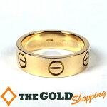 カルティエ/Cartier:ラブリング750YG#527g新品仕上済ジュエリー・アクセサリー指輪・リング中古【中古】