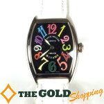 フランクミューラー/FRANCKMULLER:トノーカーベックスカラードリームス7502QZ時計腕時計レディース[女性用]中古【中古】