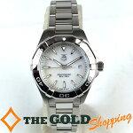 タグホイヤー/TAGHeuer:アクアレーサーレディースクォーツWAY1412時計腕時計レディース[女性用]中古【中古】