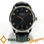 グッチ/GUCCI:Gタイムレスミディアムウォッチ自動巻126.4時計腕時計メンズ[男性用]中古【中古】