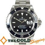 ロレックス/ROLEX:サブマリーナ新品仕上、ムーブ点検済Y番16610時計腕時計メンズ[男性用]中古【中古】