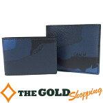 コーチ/COACH:カモフラージュPVC2つ折り財布カードケース付F75101財布折財布中古【中古】