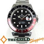 ロレックス/ROLEX:GMTマスター2黒赤ベゼルOH・新品仕上済Z番16710時計腕時計メンズ[男性用]中古【中古】