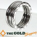 ブルガリ/BVLGARI:B-zero1リング750WGK18ホワイトゴールド#569.0g新品仕上済ジュエリー・アクセサリー指輪・リング中古【中古】