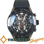 タグホイヤー/TAGHeuer:カレラCARRERAHEUER01自動巻きラバーベルトCAR2A1Z.FT6044時計腕時計メンズ[男性用]中古【中古】