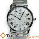 【中古】カルティエ Cartier ロンド ソロ LM クォーツ W6701005 腕時計 [メンズ ...