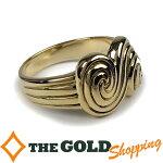 ティファニー/Tiffany&Co.:750YGK18イエローゴールドリング渦巻#108.9g新品仕上げ済ジュエリー・アクセサリー指輪・リング中古【中古】