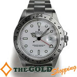 ロレックス/ROLEX:エクスプローラー2白文字盤F番OH・新品仕上げ済16570時計腕時計メンズ[男性用]中古【中古】