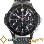 ウブロ/HUBLOT:ビックバンクロノグラフ自動巻きオーバーホール済301.SB.131.RX時計腕時計メンズ[男性用]中古【中古】