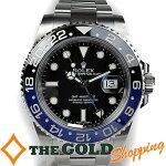 ロレックス/ROLEX:GMTマスター2ランダム点検・仕上済み116710BLNR時計腕時計メンズ[男性用]中古【中古】