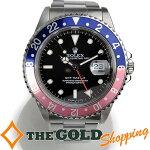 ロレックス/ROLEX:GMTマスター16700T番赤青ベゼルオーバーホール済み16700時計腕時計メンズ[男性用]中古【中古】