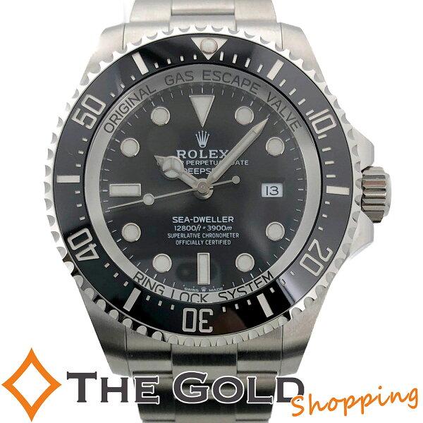 中古 ロレックスシードゥエラーディープシー1266602021年3月新ギャラステンレスランダムシードウェラーROLEX腕時計メ