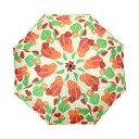 和傘 晴雨兼用 折りたたみ傘 傘 かさ 和風傘 雨傘 和風 和柄 レディース ブランド UVカット 【和柄テキスタイル三つ折りたたみ傘-鬼灯に梟】