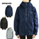 パタゴニア Patagoniaレディース ゴアテックスジャケットW'S CALCITE JACKETウィメンズ カルサイトジャケットCLASSICNAVY(クラシックネイビー) BLACK(ブラック) FEATHERGRAY(フェザーグレー)GTX ナイロン 防水 黒 紺