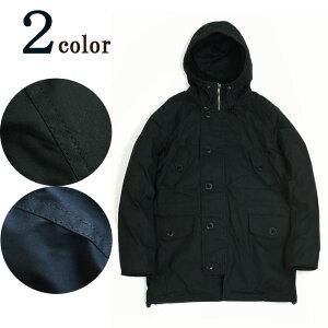 ハイデンシティーダウンコートHIGH DENSITY DOWN COATLAUNCH BASIC TRADE ラウンチベーシックトレード NAVY(ネイビー) BLACK(ブラック) アウター メンズ 紺 黒 灰色 ダーク モード N3B カジュアル ダウンジャケット