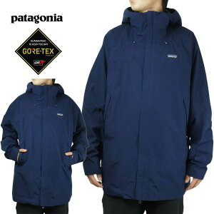 パタゴニア Patagoniaメンズ ジャケット29400 MENS DEPARTER JACKETデパータージャケットCNY(ネイビー)ナイロンジャケット 紺 ゴアテックス GORETEX マウンテンパーカー