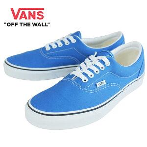 VANS ヴァンズ バンズメンズ スニーカーERA エラNEBLAS BLUE/TRUE WHITE(ブルー/ホワイト)青 白 キャンバス シューズ 靴 スニーカー
