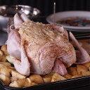 ミートガイの地鶏丸ごと1羽【約2kg】1?5人前(冷凍・生)(丸鶏・丸鳥)BBQやパーティー、クリスマスにローストチキンを♪錦爽鶏