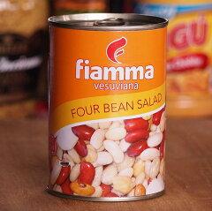 ヘルシー♪便利な常備保存食!! 4種のミックスビーンズ(ライマメ、白いんげん豆、ひよこ豆、金...