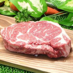 バーベキューの材料に!肉はやっぱり厚切り肉!アメリカ産特大リブロースステーキ450g ブーン...