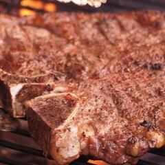 サーロインとヒレ肉が同時に楽しめる!Tボーンステーキよりヒレ肉多め★アメリカ産ポーターハウ...