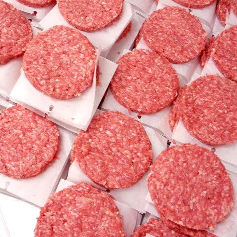 〓業務用〓ビーフパティ1箱 5kg 50枚入-学園祭・大人数BBQなどにハンバーガー!