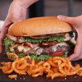 特大・手作りハンバーガーセット【パウンダー】びっくりサイズの1ポンドバーガー!お得さ福袋級!【YDKG-tk】【smtb-tk】【RCP】