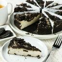 (送料無料)ニューヨークチーズケーキ クッキー&クリーム (直径約20cm/12ピースカット済み) ホールケーキ チョコ・オレオクッキーがたっぷり!誕生日に!Brooklyn Cheese Cake♪≪本格・本場の冷凍ケーキ/業務用≫ -SW002 3