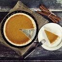 パンプキンパイ(フルサイズ/ホールケーキ 直径約18cm)誕生日に♪かぼちゃのお菓子☆バースデーケーキ
