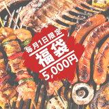 毎月1日限定! (送料無料)ミートガイ 福袋 5千円 数量30個限定!早い者勝ちです!約1.3kgのお肉が入ったとってもお得な福袋!-TOKU12