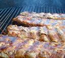 豚スペアリブ2枚(ベービーバックリブ)1000g前後 豚肉 ブロック 2ラック入り☆バーベキュー肉の材料に (直輸入品)