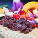 馬肉 竹串付き味付け馬肉キューブ 150g (馬肉串、ケバブ)味付け済...