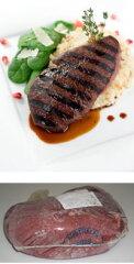 ダチョウ肉(オーストリッチ)ランプステーキ用 ブロック 約1kg【YDKG-tk】