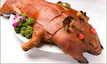 【送料無料】豚丸焼きに!仔豚さん丸ごと1匹(冷凍・生)≪雑誌掲載商品≫【YDKG-tk】【smtb-tk】