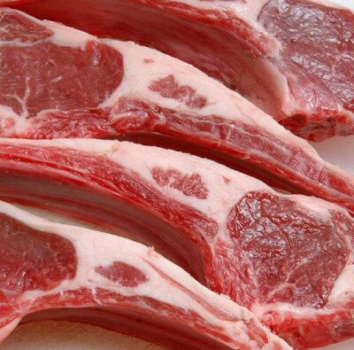 お肉はやっぱり骨付き肉で!フレンチラムラック・ラム肉(仔羊骨付きリブロース/ブロック羊肉)...