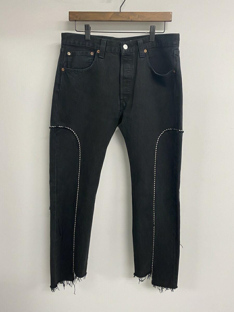 メンズファッション, ズボン・パンツ OLDPARK WESTERN JEANS(BLACK,M)