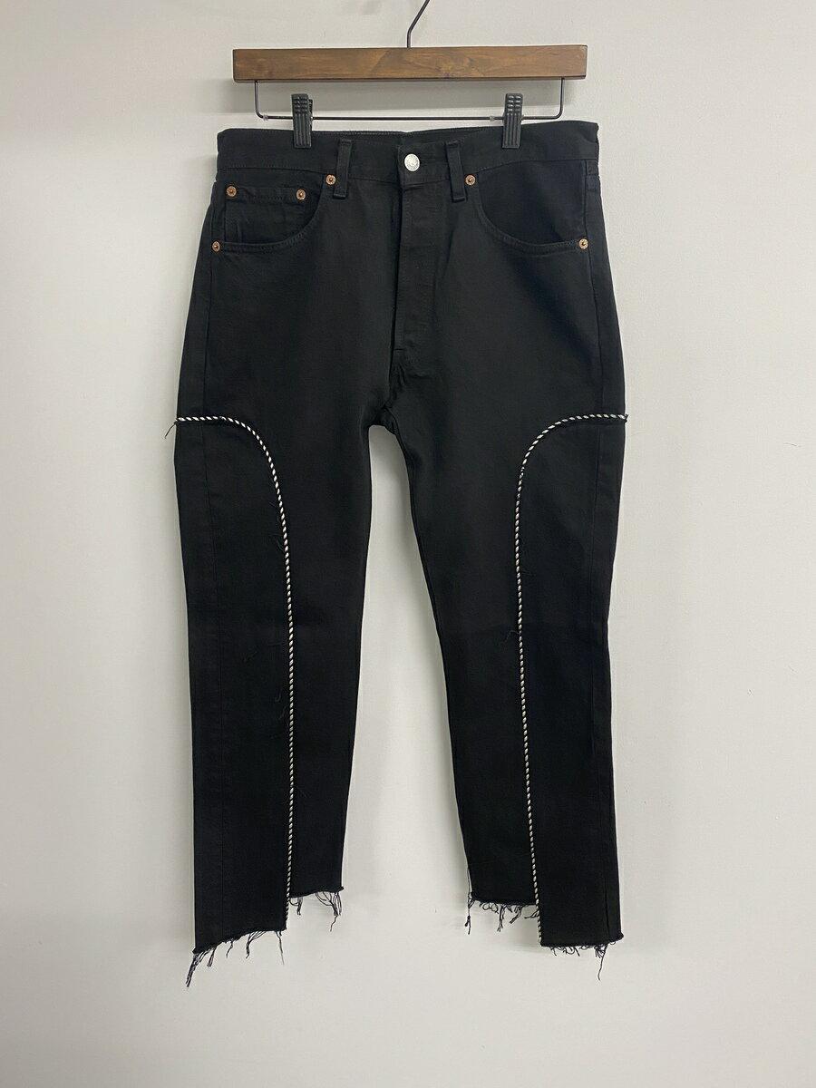 メンズファッション, ズボン・パンツ OLDPARK WESTERN JEANS(BLACK,S)