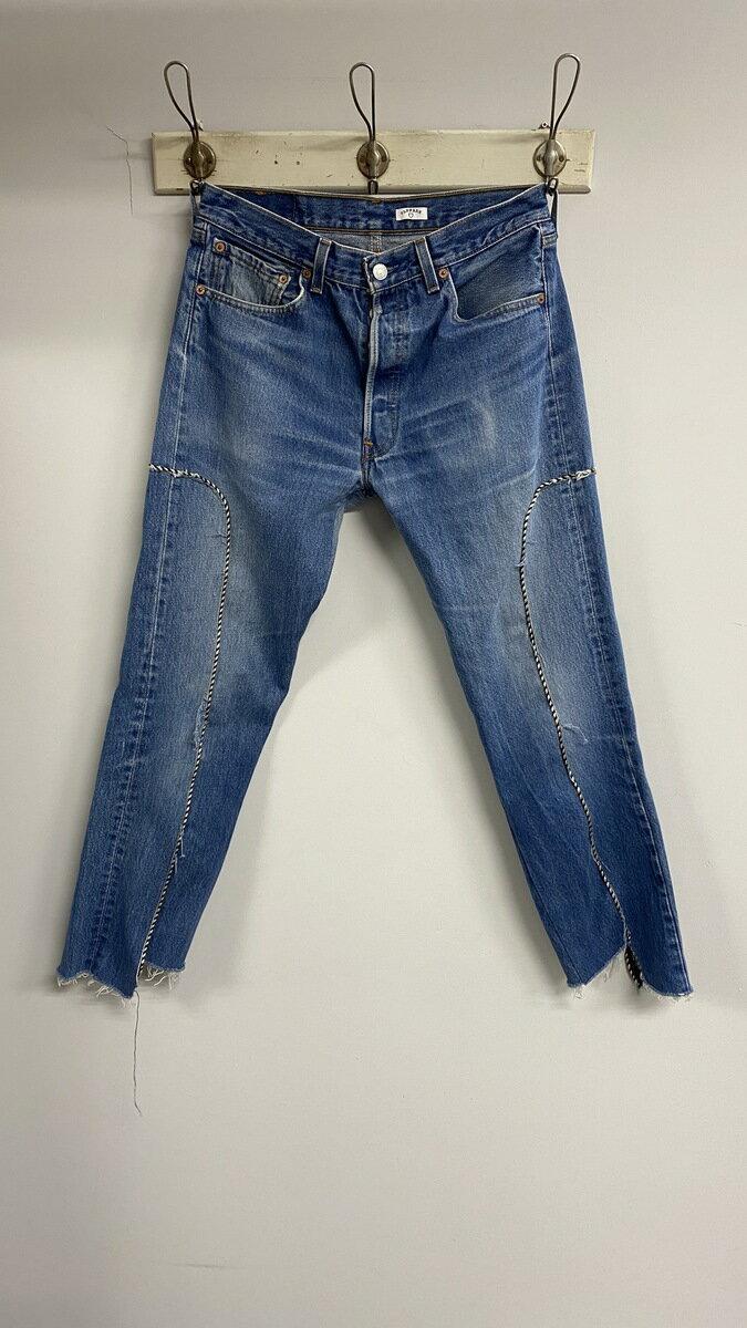 メンズファッション, ズボン・パンツ OLDPARK WESTERN JEANS(BLUE,M)