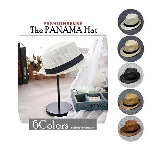 パナマ帽子 麦わら帽子 ストローハット 父の日 パナマ帽 メンズ レディース 中折れ 男性用 ベルト UVカット 春夏 日よけ帽子 紫外線対策