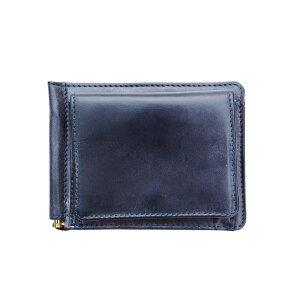 [Regular dealer] GLEN ROYAL MONEY CLIP WITH COIN POCKET Money clip with coin purse DARK BLUE