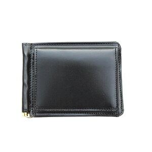 [Regular dealer] GLEN ROYAL MONEY CLIP WITH COIN POCKET Money clip with coin purse BLACK (Glen Royal)