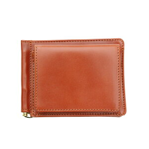 [Regular dealer] GLEN ROYAL MONEY CLIP WITH COIN POCKET Money clip with coin purse OXFORD TAN