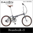 【送料無料】DAHON ダホン Boardwalk i5 ボードウォーク チャコール 20インチ 折りたたみ自転車 2017年モデル
