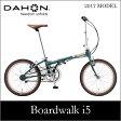 【送料無料】DAHON ダホン Boardwalk i5 ボードウォーク アイボリー 20インチ 折りたたみ自転車 2017年モデル